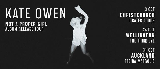 Kate Owen Album Release Tour