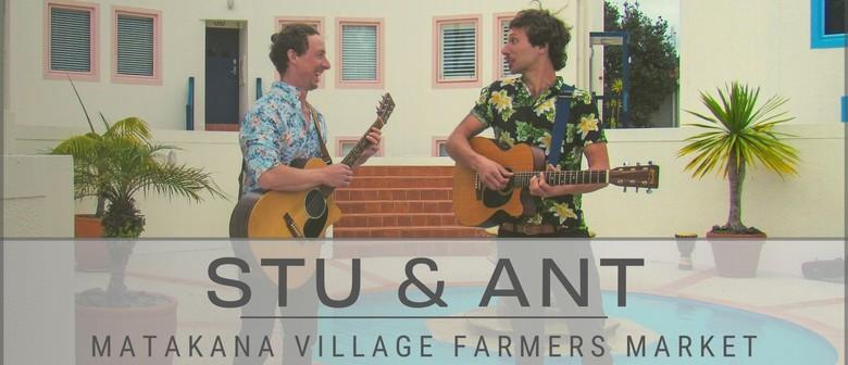 Stu + Ant Live