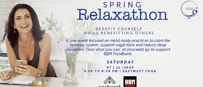 Spring Relaxathon - Benefit Yourself While Benefitting Other