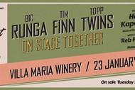 Kiwi Concert Party - Runga, Finn & The Twins