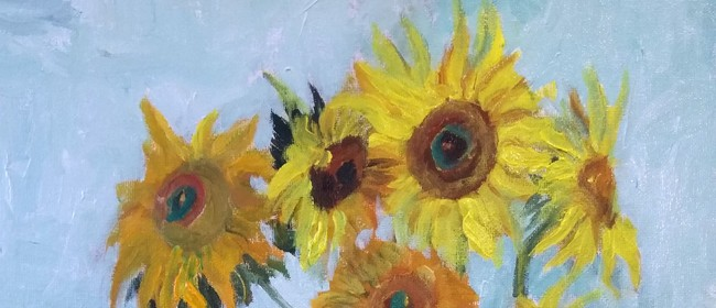 Paint & Wine Night - Sunflowers