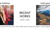"Jane Kellahan and Matt Gauldie ""Recent Works"""