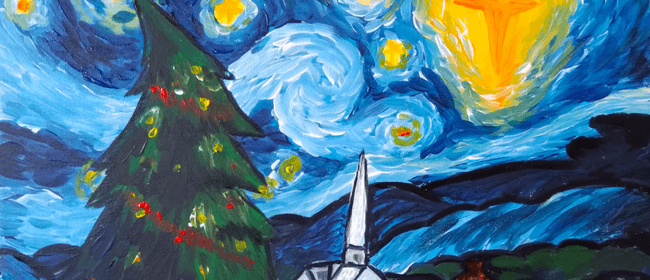 Paint and Wine Night - A Christmas Night