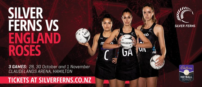 Silver Ferns vs England Roses