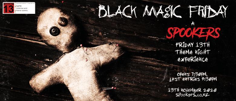 Black Magic Friday Friday the 13th November