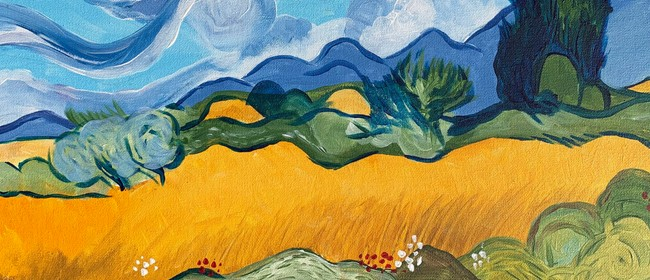 Paint & Wine Night - Van Gogh - Wheat Field