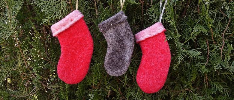 Felted Christmas Stocking Workshop