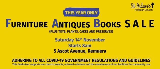 FAB Sale - Furniture, Antiques, Books & More