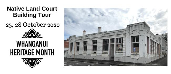 Native Land Court Building Tour