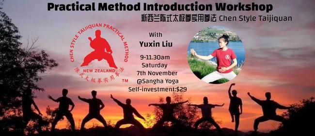 Practical Method Tai Chi Introduction Workshop
