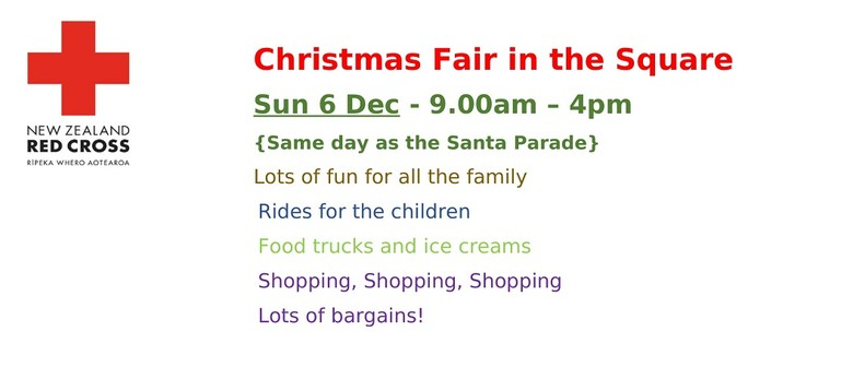 Red Cross Christmas Fair in the Square