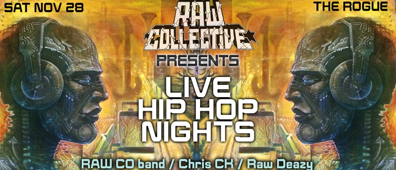 Raw Collective presents: Live Hip Hop Nights