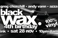 Black Wax (100 % Vinyl) #20 4th Birthday
