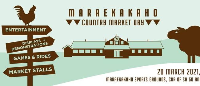 Maraekakaho Country Market Day 2021
