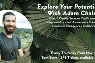 Explore Your Potential Series with Adam Chalmers: CANCELLED