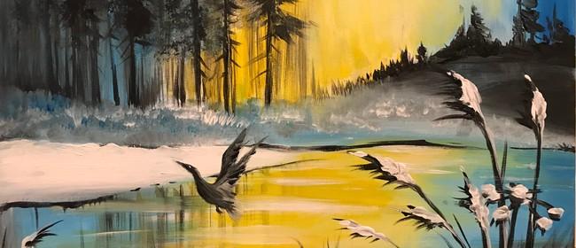 Paint & Chill Friday Night - Golden Lake
