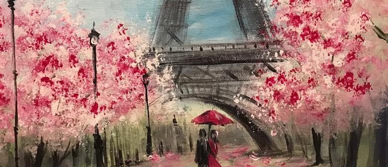 Paint & Chill Saturday Night - PARIS!