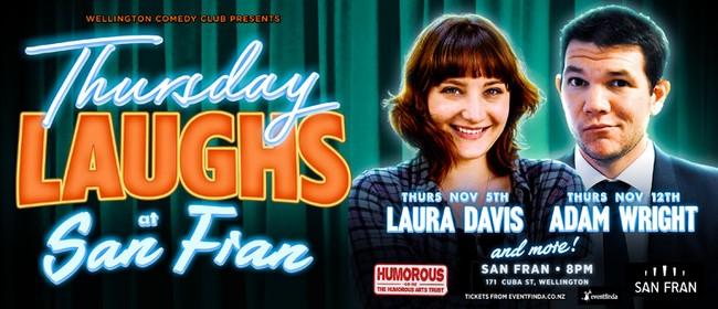 Wellington Comedy Club presents - Thursday Laughs!
