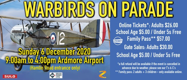 Warbirds On Parade 2020