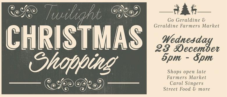 Twilight Christmas Shopping Geraldine