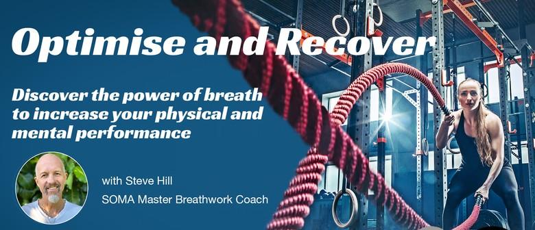 BreathMedicine Workshop - Optimise & Recover