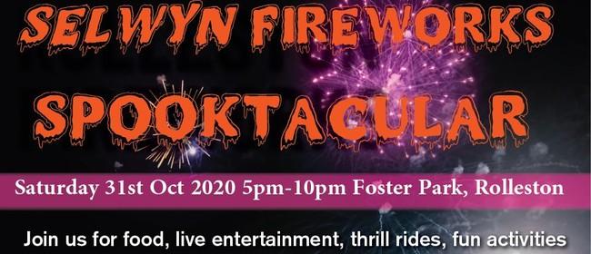 Selwyn Fireworks Spooktacular