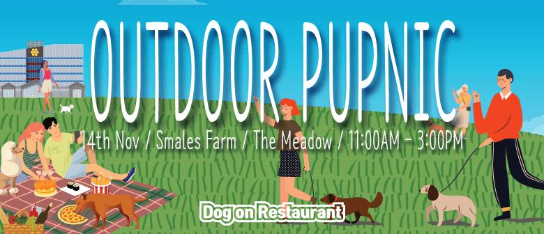 Dog on Restaurants Pupnic in the Park