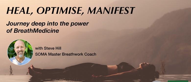 BreathMedicine Workshop - Heal, Optimise, Manifest