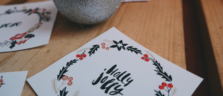 Calligraphy for Kids - Holiday Cards & Crafts