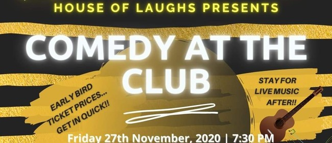 Comedy at the Club