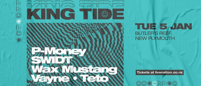 King Tide ft. P-Money, SWIDT, Wax Mustang and More