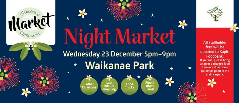 Waikanae Community Christmas Night Market