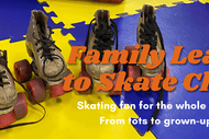 Family Learn to Roller Skate Class Mondays