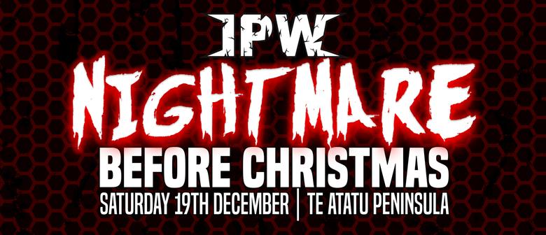 Impact Pro Wrestling : Nightmare Before Christmas
