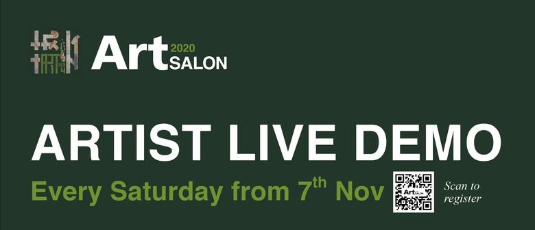 2020 Art Salon Live Art Demo