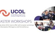 UCOL Taster Workshop Whanganui