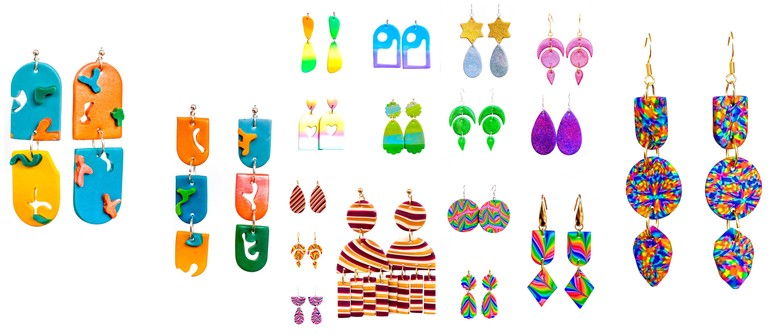 Themed Clay Earring Workshops- Hosted by Dripped With Honey