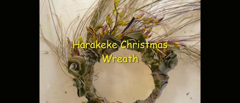 Harakeke Christmas Wreath Making