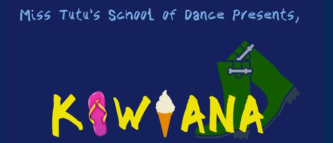 Miss Tutu's Dance Recital -Kiwiana