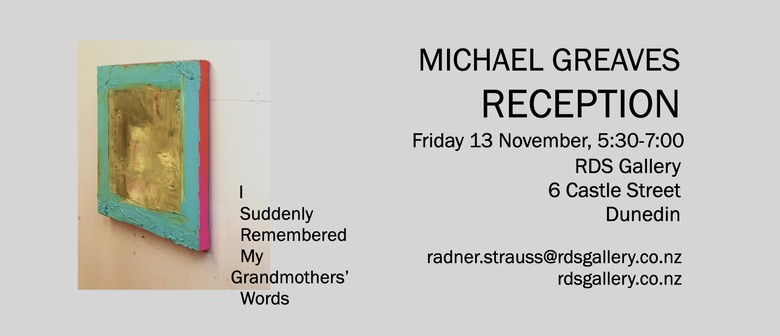 Reception for Michael Greaves