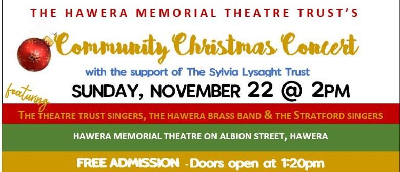 Hawera Memorial Theatre Trust's  Community Christmas Concert