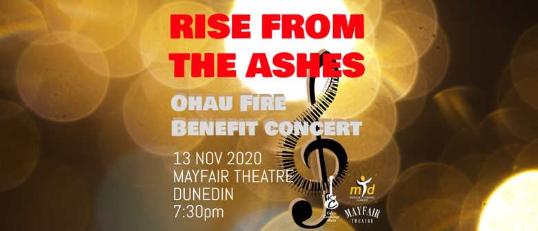 Rise From The Ashes - Ohau Fire Benefit Concert