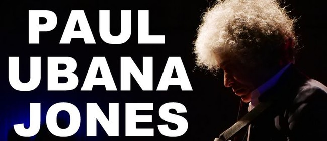 Paul Ubana Jones at The Playhouse