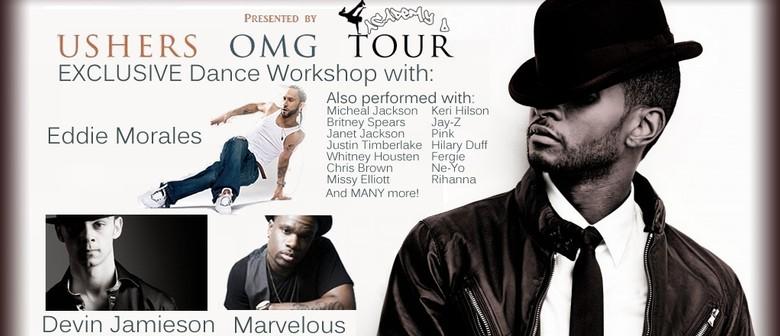 Usher's OMG Tour - Exclusive Dance Workshops