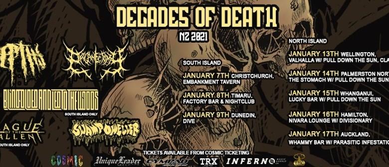 Decades of Death 2021 TIMARU