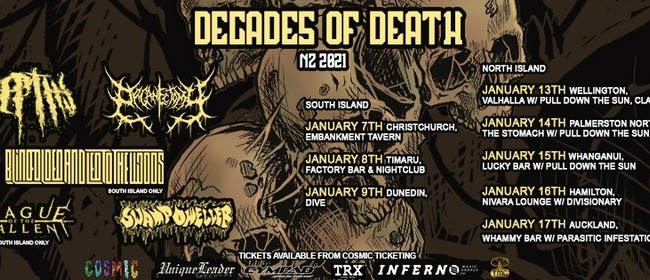 Decades of Death 2021 TIMARU