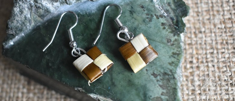 Flax Earrings Workshop with Kahu Collective