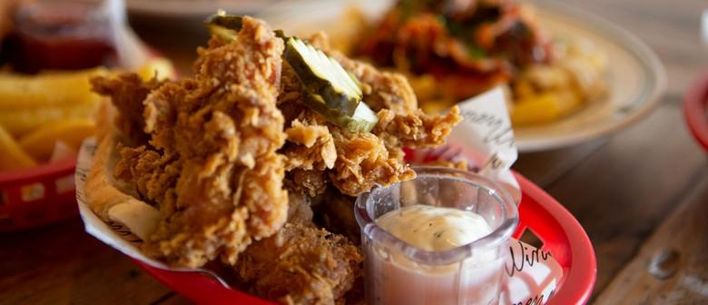Winner Winner Bottomless Fried Chicken Dinner