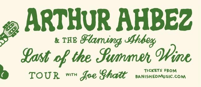 Arthur Ahbez & The Flaming Ahbez: CANCELLED