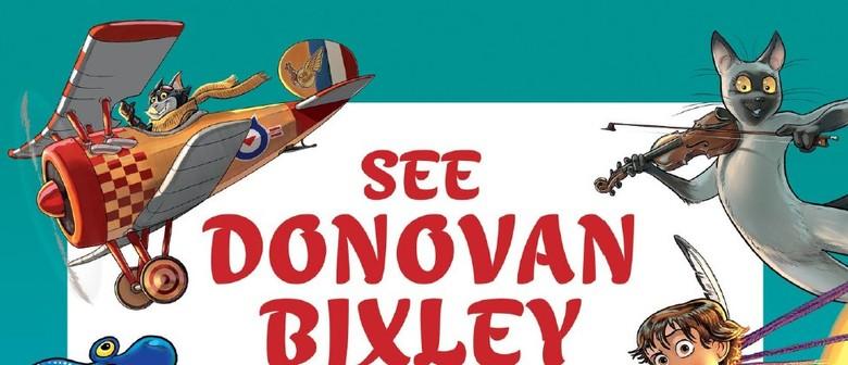 See Donovan Bixley In Action